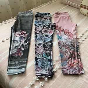 Budle of 3 pairs of Yoga Pants BRAND NEW🤩